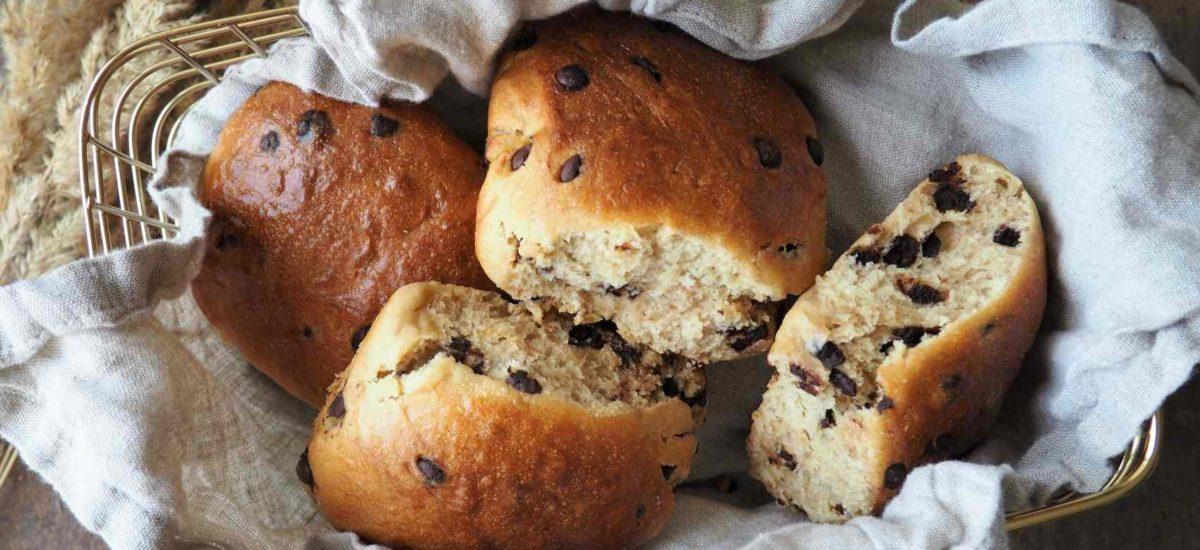 Vegane Schokobrötchen – Wie aus einer Bäckerei