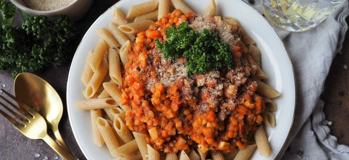Vegane Linsenbolognese – Ganz ohne Ersatzprodukte