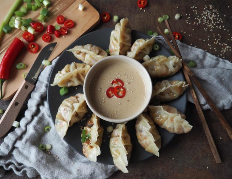 Vegane Dumplings – Gyoza mit Kohl-Shiitake-Füllung