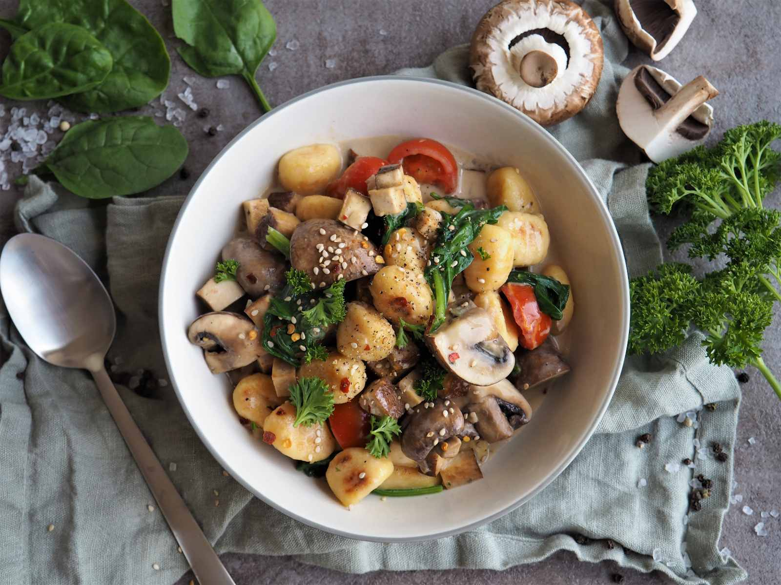 Vegane Gnocchi-Pfanne – Super cremig