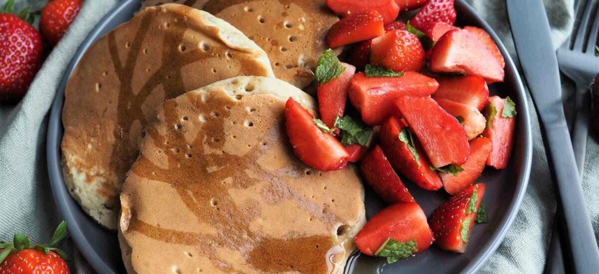 Vegane, fluffige Pancakes – Super easy